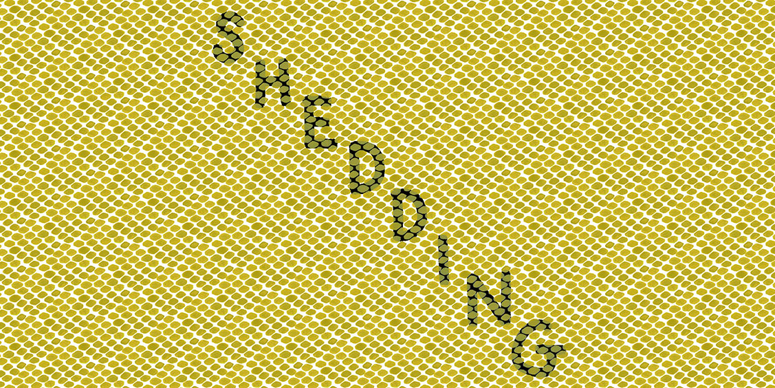 Shedding Zine. A comic about a snake shedding her skin.
